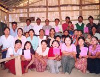 Readers in the Chin Hills, Myanmar, receive the first ever Bible commentaries in their local language